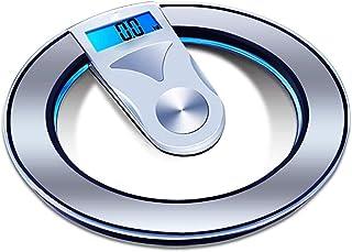 KSDCDF Gewichtsschaal, Precision Body Bathroom Scale, digitale elektronische schaal met stap-op technologie, gehard glas g...