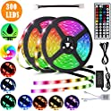 AnXun 32.8ft RGB Waterproof Led Strip Lights