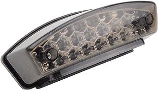 GOOFIT Universal weiß/grau/rot Kunststoff Schwanz Indikator Bremse Indikator Rücklicht Leuchtmittel für Scooter ATV