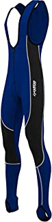 Zimco Men Bicycle Windbreak Bib Pants Thermal Insulated Cycling Bib Tight Coolmax Padded