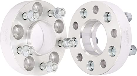 """2pc 1.25/"""" Wheel Spacers for Ford Aerostar Bronco II Crown Victoria 5x4.5 td"""