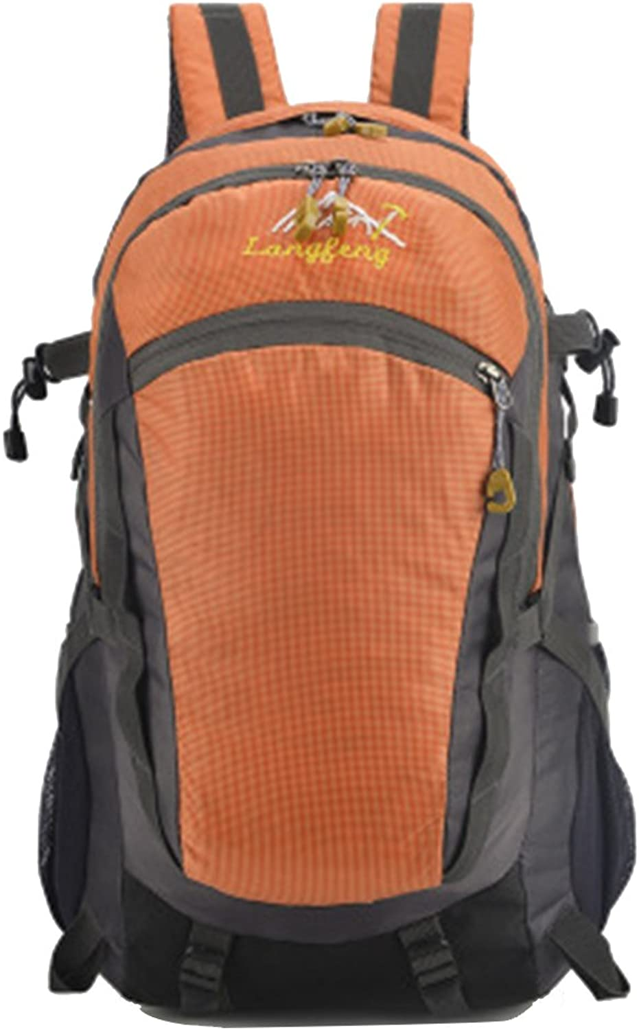 Hiking Backpack, Lightweight Backpack Men and Women Riding Sports Travel Mountaineering Bag Rucksack Large Capacity for Outdoor Camping Trekking Travel Climbing