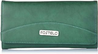 Fostelo Women's Sunrise Two Fold Wallet (Green)