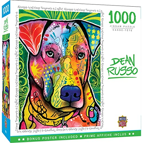 MasterPieces Dean Russo Puzzles Collection - Always Watching 1000 Piece Jigsaw Puzzle