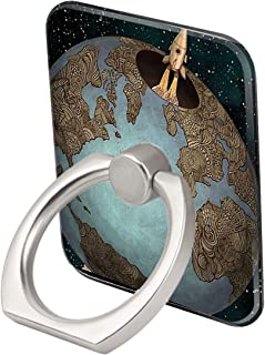 Phone Ring for iPhone Journey Across The Earth Grip Stand Holder Tablets Skid Proof Protective