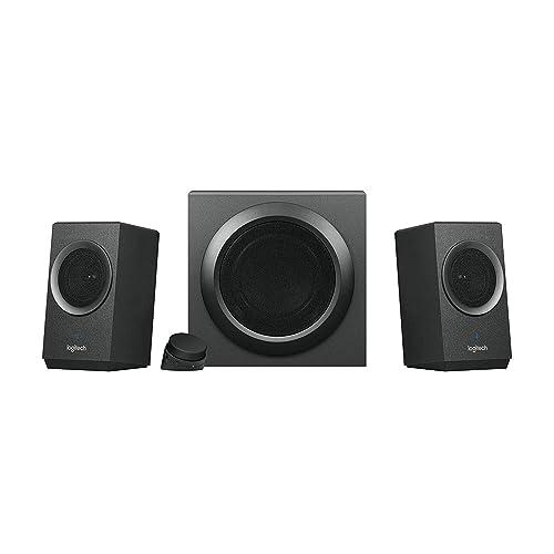 Logitech Z337 Système d'enceintes Multimédia 2.1 avec Bluetooth, Noir