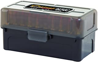 Caldwell .223/.204 Ammo Box with Removable Lid and Strong Construction for Outdoor, Range, Shooting, Competition and Reloading, 5 Pack