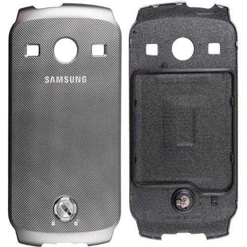 Original Samsung Akkudeckel für das Samsung S7710 Galaxy Xcover 2 - grey / grau (Akkufachdeckel, Batterieabdeckung, Rückseite, Back-Cover) - GH98-25615A