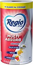 Regio Toallas De Papel Regio Multi Absorb 1 Rollo De 180 Hojas Dobles, color, 180 count, pack of/paquete de