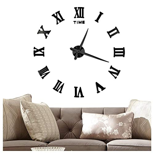 Big Clocks For Living Room Decor Amazon Com