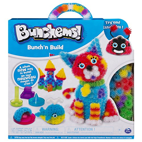 Bunchems Bunch and Build - Bunchems Formen Set - MINT - Vorschule - Feinmotorik fördern - Rechnen lernen