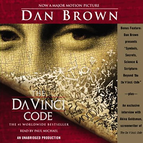 The Da Vinci Code audiobook cover art