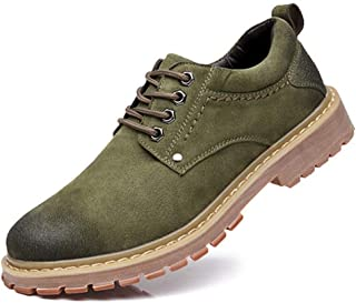 Men Casual Leather Shoes Men Martins Leather Shoes Work Safety Shoes Winter Waterproof Ankle