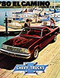 1980 Chevrolet Chevy El Camino Truck and Ss Original Sales Brochure Catalog