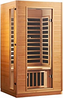 Kylin Luxury Carbon Fiber Infrared Sauna Portable Home Spa for 2 People (9101A)