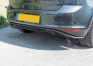OriginalEuro GTI Style Lower Rear Bumper Spoiler Lip Sport Valance Diffuser for VW Golf MK7 7 GT