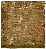 Mil-Tec - Pañuelo para Cuello o Cabeza (Bufanda Militar) Vegetato Talla:190 x 90 cm
