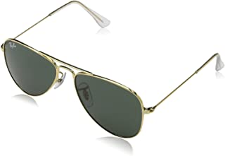 119d0a7d14 Ray-Ban Junior Aviator Sunglasses in Shiny Silver Mirror RJ9506S 212 6G 50