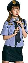 [ブライトララ] ハロウィン コスプレ ポリス 制服 仮装 大人 警察 コスチューム ミニスカポリス 警察官