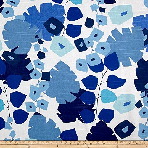 P Kaufmann Annie Selke Block Floral, Yard, Blue