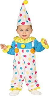 Baby Girls Boys Cute Colorful Spotty Clown Carnival Circus Fancy Dress Costume Outfit