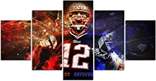 tom brady canvas pictures