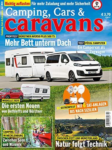 """Camping, Cars & Caravans 7/2019 \""""Mehr Bett unterm Dach\"""""""