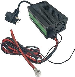 LiFePO4 Battery Charger 3.65V 10A for Golf-carts Lithium Batteries 36V/48V/72V with Capacity 60AH/100AH/180AH
