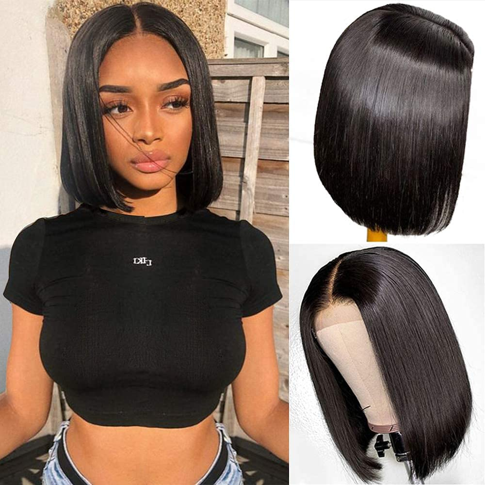 Middle Part Lace Front Wigs Human Pre Mid Rapid rise Hair Baby Colorado Springs Mall Plucked