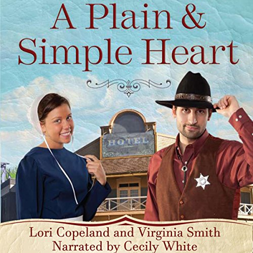A Plain and Simple Heart audiobook cover art