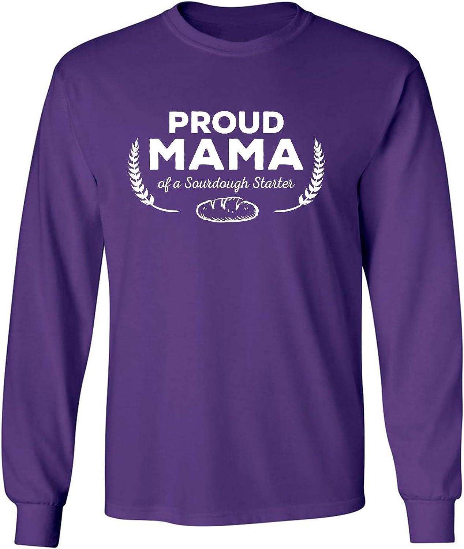 Proud Mama of a Sourdough Starter Adult Long Sleeve T-Shirt