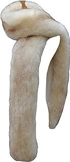 Women Winter Warm Faux Fox Fur Scarf Collar Long Wrap Scarf Stole Shawl Shrug