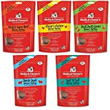 Stella & Chewy's Freeze Dried Dog Food for Adult Dogs, 5.5 oz Variety Pack 1 of each Flavor (Beef,...