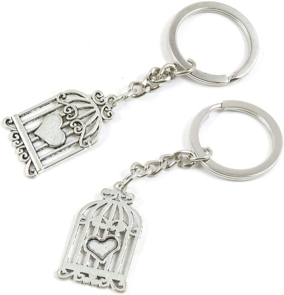 100 Pieces Keyring Keychain Wholesale Clasps Cheap sale Suppliers Milwaukee Mall R Jewelry