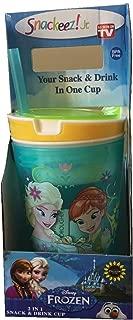 Frozen Fever Snackeez - Aqua Cup with Yellow Rim