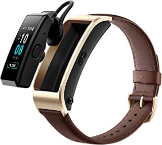 HUAWEI TalkBand B5 2018 Active Edition Wristband Fitness Tracker Sport Band Headset Function (Bluetooth handsfree) JNS-BX9 (Brown)