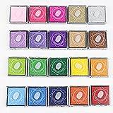 Rainbow Craft - Almohadillas de tinta para niños, para utilizar con los dedos, para manualidades, sellos de caucho, tarjetas, etc.