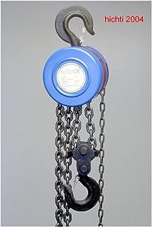 GT amz1023968/Viper montacargas de cadena manual 10/m Altura de elevaci/ón 1,0/toneladas