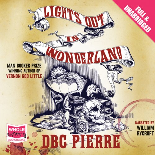 Lights Out in Wonderland audiobook cover art