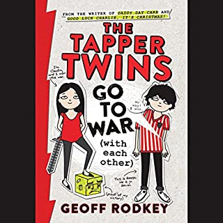 The Tapper Twins Go to War (With Each Other) audiobook cover art