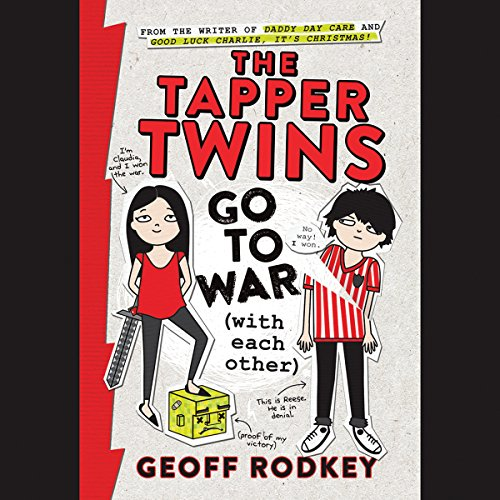 Page de couverture de The Tapper Twins Go to War (With Each Other)