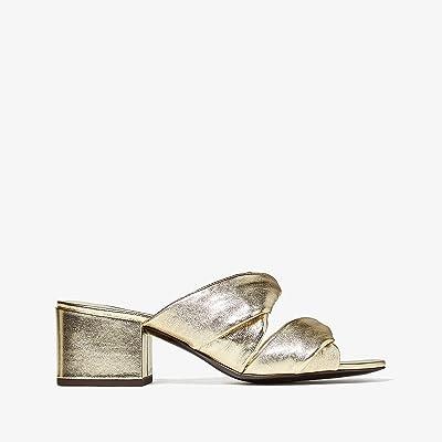 3.1 Phillip Lim Cube Twist Sandal (Gold) Women
