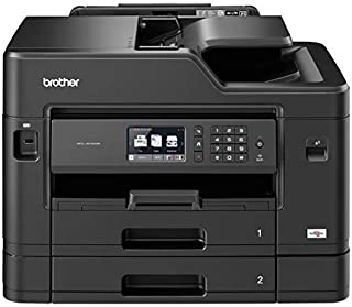 Brother MFC-J5730DW A3 Colour Inkjet Multi-Function Centre, Wireless/USB/Network, Printer/Scanner/Copier/Fax Machine, 2 Si...