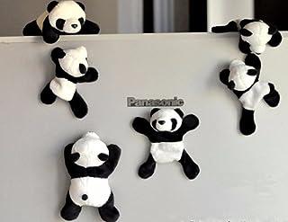 Somnus258 冷蔵庫に貼るマグネット 冷蔵庫 ステッカー シャンシャン パンダ 冷蔵庫磁石 装飾マグネット パンダ グッズ シャンシャン 人気 雑貨 オフィス アクセサリー 可愛い 中国 旅行 記念品 お土産 おもしろい