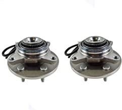 Detroit Axle - Both (2) Front Wheel Hub and Bearing Assembly Driver and Passenger Side - 4x4 w/ABS 6 Stud; from 11/29/04-2005-2008 Ford F-150 4x4 - [2006-2008 Lincoln Mark LT]