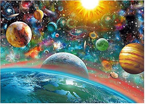 Miniatur Mini 1000 Stück Puzzle für Erwachsene Weltraum Robuste Papppuzzles Gehirn Übung Herausforderung High Schwierigkeitsgrad Spiel Kinder 38 * 26 cm