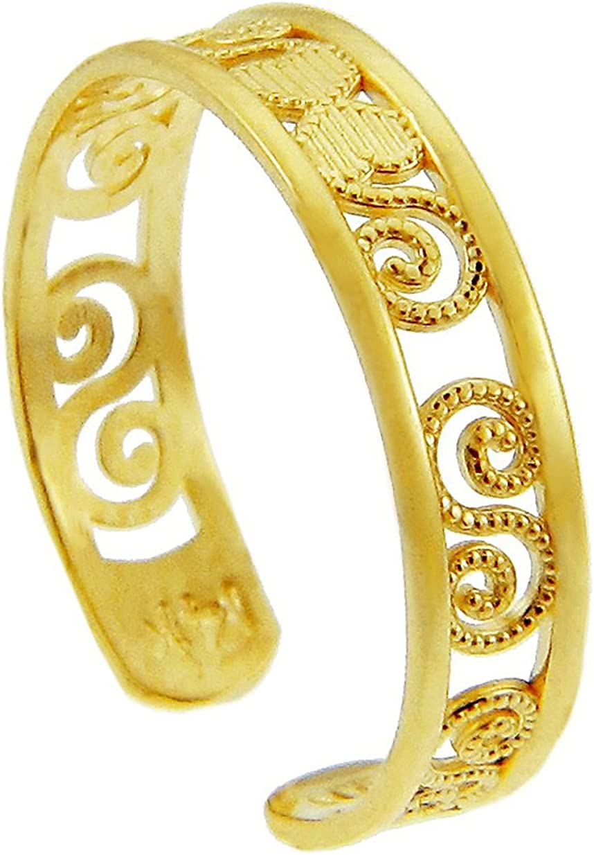 Classy Yellow Gold sold out 14K Ring Long-awaited Toe