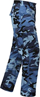 Camo Tactical BDU (Battle Dress Uniform) Military Cargo Pants