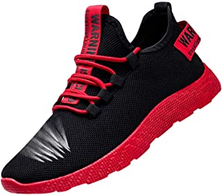 Riou Sportive Sneakers Uomo Traspiranti Morbida Scarpe da Trekking Scarpe da Viaggio Scarpe da Corsa Antiscivolo Corsa Spo...