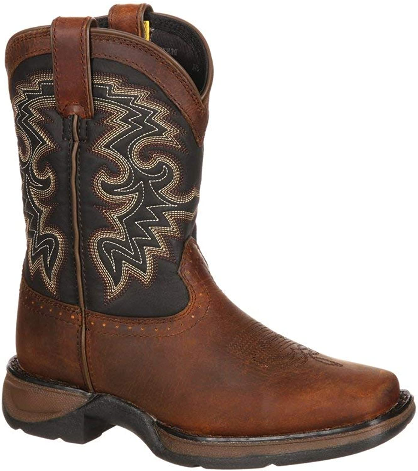 Durango Kid's Lil 8  Pull On Square Toe Western Boot